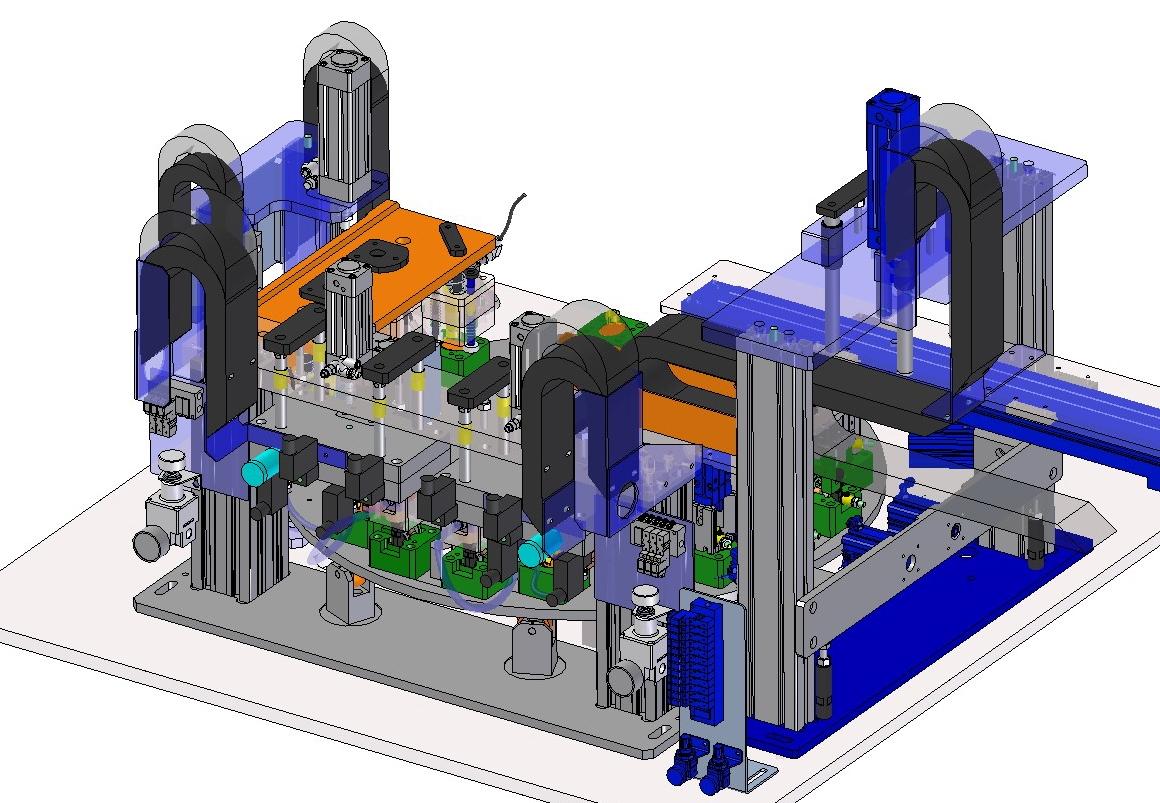 Sma progettazione 3d macchine speciali for Progettazione mobili 3d